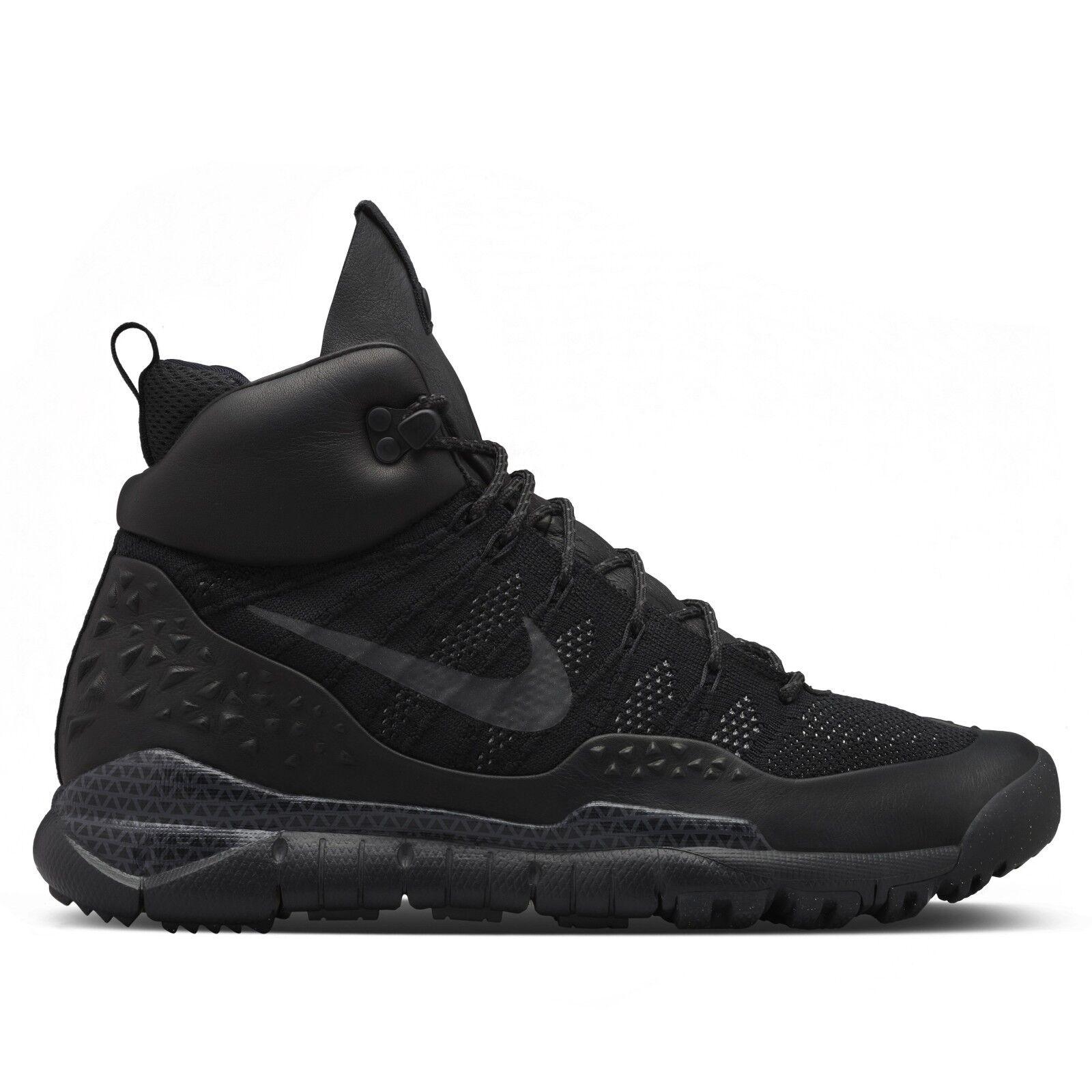 Nike acg nero lupinek flyknit antracite Uomo scarpe stivali 826077-001 nikelab