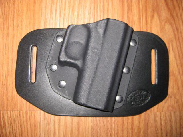OWB Kydex/Leather Hybrid Holster