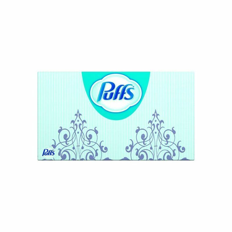 Procter & Gamble Puffs Ultra Facial Tissue 2-Ply, White 24 bx cs