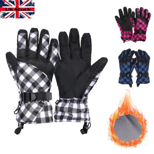 Ladies Men and Women Winter Gloves Ski Snowboard Snow Outdoor Thermal Unisex UT