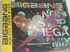 K-POP BAND BIG BANG NON STOP MEGA MIX mixed by DJ WILDPARTY Sealed cd707