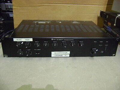 TOA 2 CH AMPLIFIER AMP MIXER PREAMP PRE M-900MK2 B-11 L-41