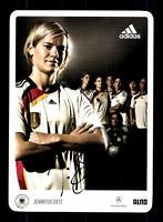 Jennifer Zietz DFB Autogrammkarte 2009 Original Signiert+A 133100