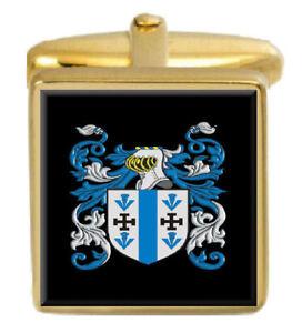 Aislabie Angleterre Famille Cimier Nom de Armoiries or Boutons Manchette Gravé o8SrQmnd-08034453-339129424