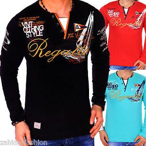 Zahida-Men-039-s-Long-Sleeve-Shirt-SWEAT-SHIRT-Long-Sleeve-T-Shirt-New-Sweatshirt-L