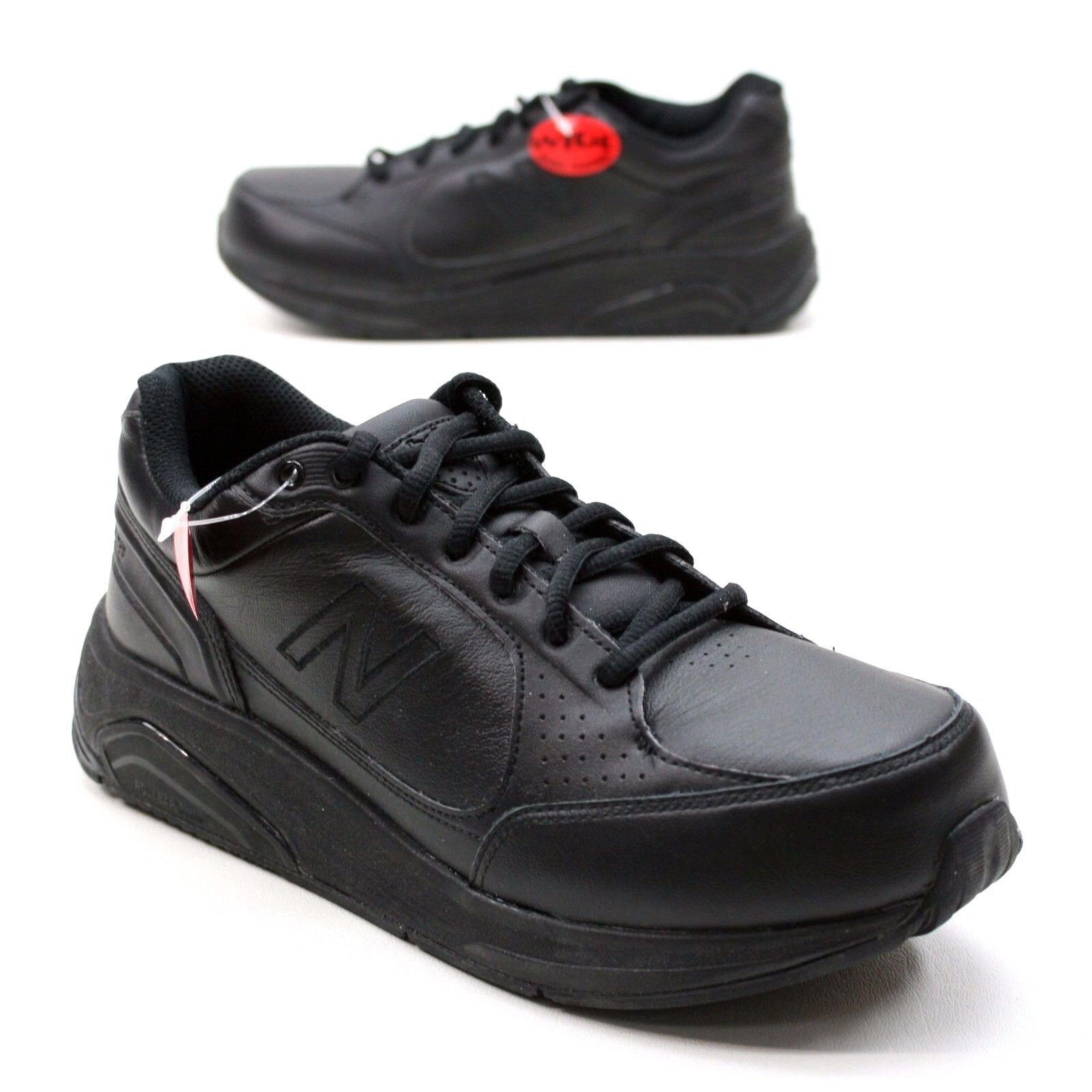 purchase cheap a67b9 96799 NEW - NEW BALANCE 928 Men s 7.5 6E 6E 6E Extra Wide Black Leather Walking  Sneakers
