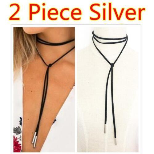 12 Different Color Options 2PCS Choker necklaces