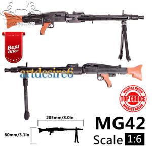 1-6-WWII-Soldier-Weapon-MG42-Machine-Gun-Model-Fit-12-034-Soldier-Action-Figure