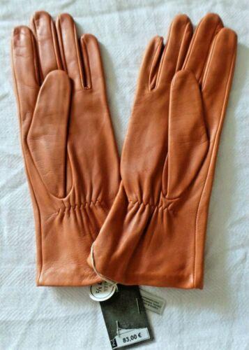 Nuovoembal 83 Story Swarovski € PelleSeta Terracota Taglia 5 7 Zip Guanto Glove SGLqpVUzM