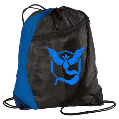 Boy Girl Drawstring Backpack Travel Waterproof Gym PE Swim School Book Sport Bag