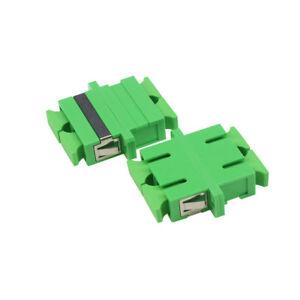 10pc-SC-APC-SM-Duplex-Fiber-Optic-Adapter-SC-APC-Flange-Coupler-Adaptor