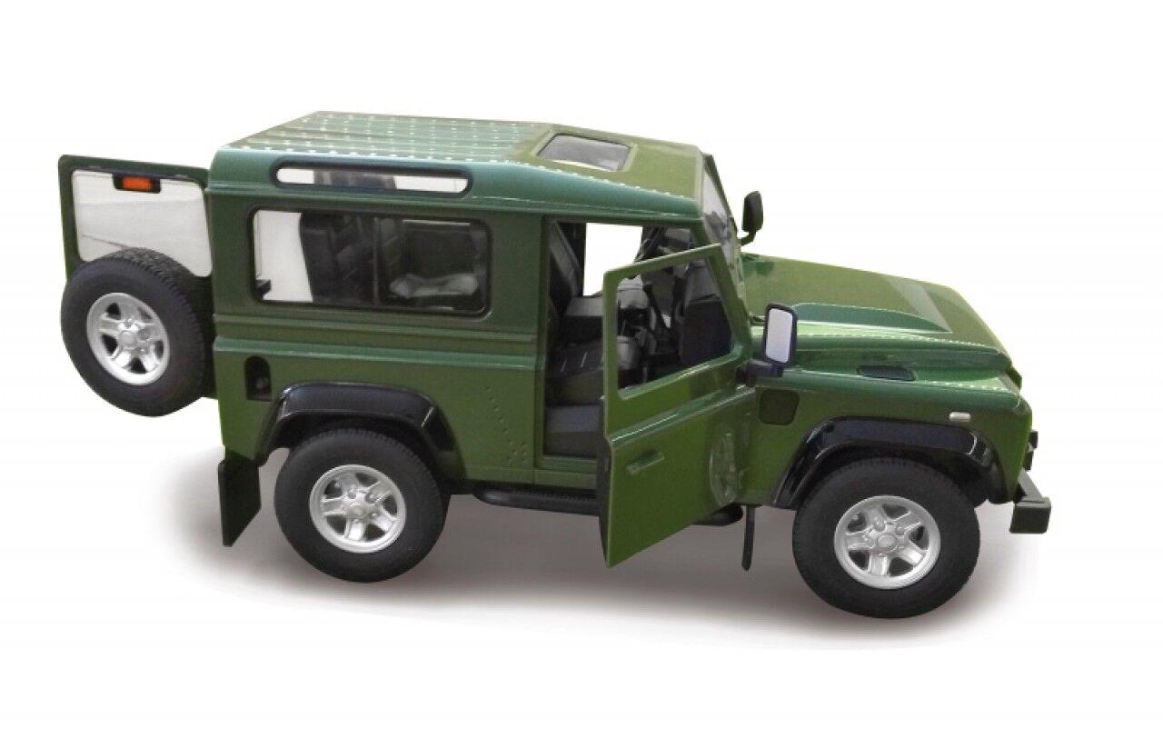 Land Rover Defender 1 14 grün - Tür manuell - ferngesteuertes Modellauto 405155