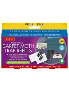 Acana Surveillance Tapis Ameublement Moth Killer Piège Recharge Pack De 2-afficher Le Titre D'origine