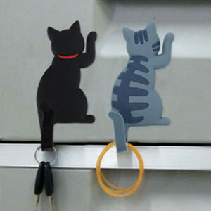 Lovely-3D-Cat-Tail-Hook-Fridge-Magnet-Sticker-Home-Decor-Hanging-Hooks-DIY-Decal