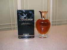 Rare Vintage Rochas Femme Eau de Toilette Spray Perfume 3.4 oz. NEW IN BOX Paris