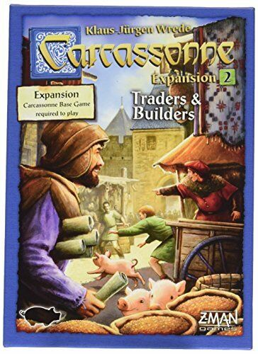 Carcassonne Carcassonne Carcassonne Expansion  2 Traders and Builders 908f5f