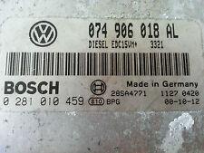 Volkswagen T4 2.5 TDI Unlocked ECU 0281010459 - 074906018AL ACV Immo OFF VW