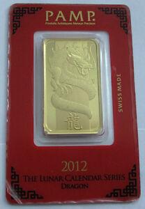 2012-Swiss-1-Oz-Gold-bar-9999-Lunar-Year-Calendar-Series-Dragon