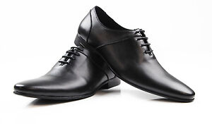 MENS-ZASEL-LEVI-Leather-Shoes-Lace-Up-Work-Formal-Dress-Wedding-Casual-Shoes
