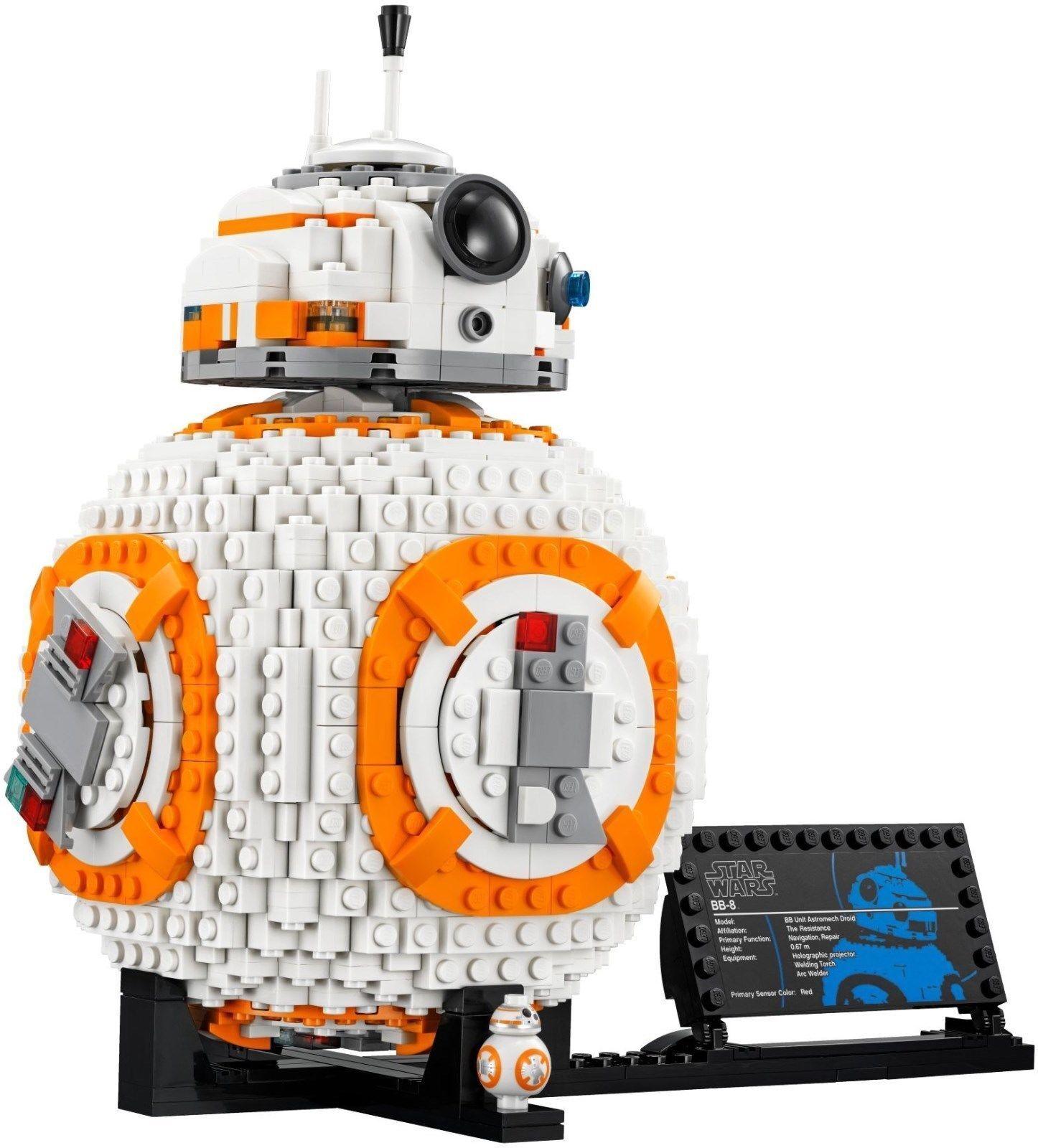 Lego Star  Wars-BB-8 - 75187-nouveau-Factory Sealed  nous prenons les clients comme notre dieu