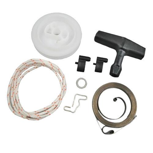Starter Rope+Starter Pulley+Pawl for STIHL 029 039 MS290 Starter Handle