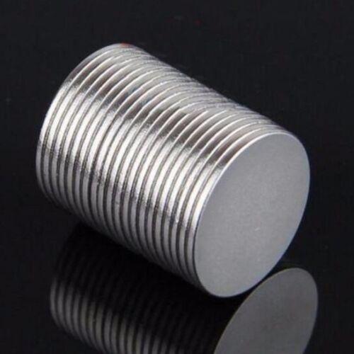 50//100 tlg Neodym Round Disc Magnete N50 Scheiben magnet 15x1mm Seltenerdmagnet