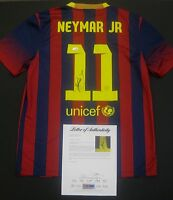 Neymar Jnr Brazil Barcelona Signed Jersey Shirt Psa Dna Authenticated 6a21614