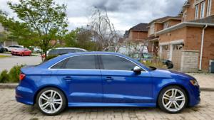 2015 Audi S3 Progressive, Audi Extended Warranty (10/2024), Panoramic roof, LED pkg, Convenience Pkg