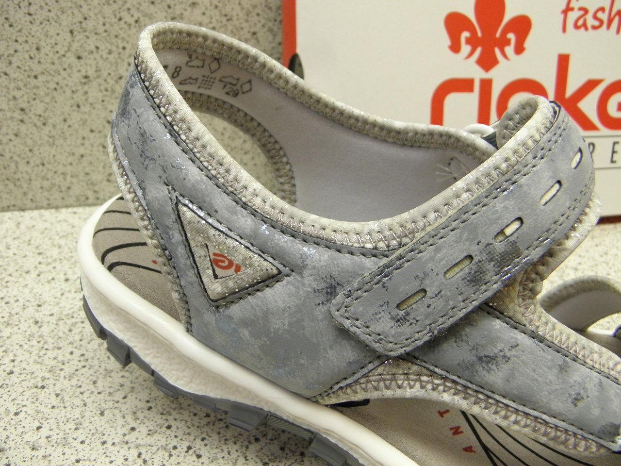 Rieker ® réduit, top top top prix, Sport, sandale, Velcro, Bleu (r510) c9b446