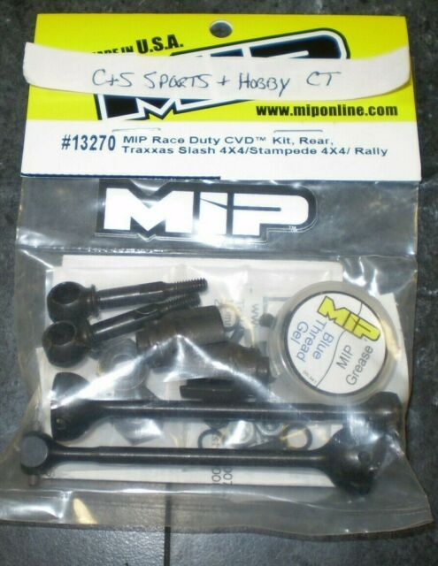 MIP 13270 Race Duty CVD Kit Rear Traxxas Slash 4X4 Stampede Rally vehicles