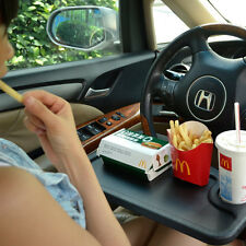 Black Eat Notebook GPS Laptop Desk Computer Steering Wheel Tray  Holder Table