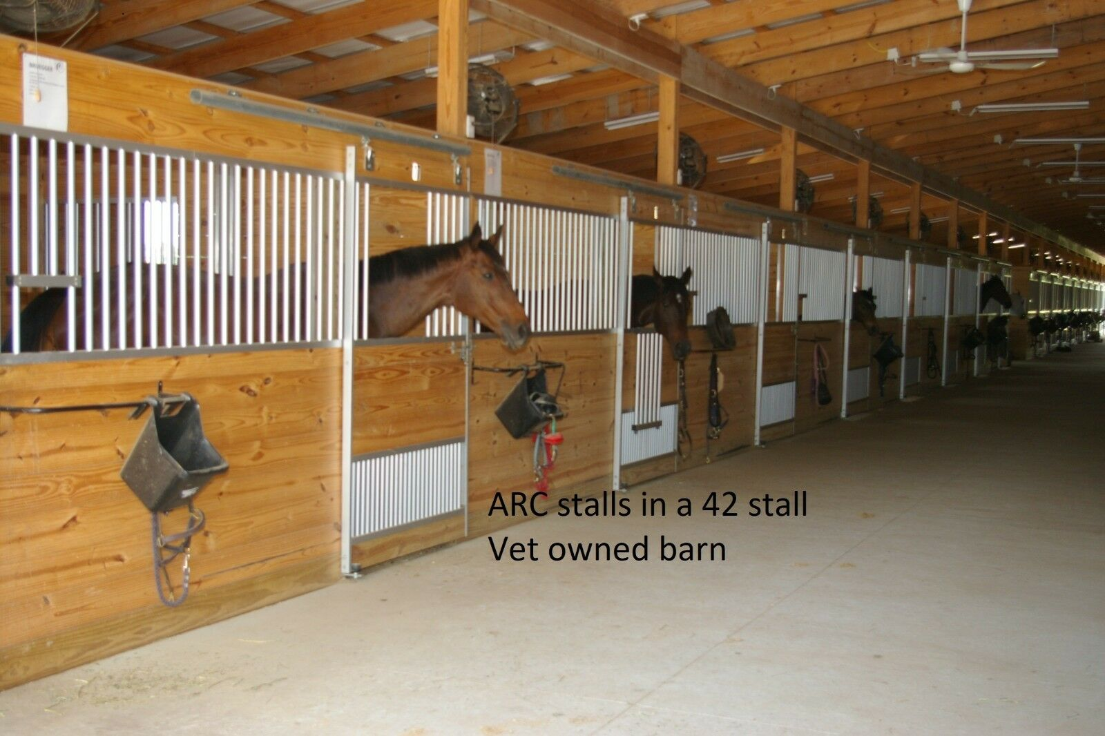 HORSE STALL FRONT 12'  ALUMINUM, NO RUST, HEAVY-DUTY, SAFETY STALLS  new listing