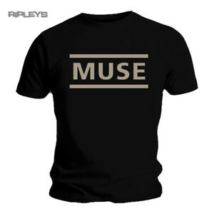 Official-T-Shirt-MUSE-Drones-Classic-LOGO-Black-All-Sizes