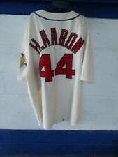 342b28db Hank Aaron Milwaukee Braves Mitchell & Ness Authentic 1963 Home Jersey Sz.  56