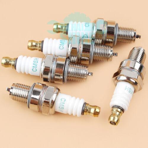Lot de 5 Spark plug Fit Stihl FC70 BR500 BR550 BR600 Honda Husqvarna REP NGK CMR6H