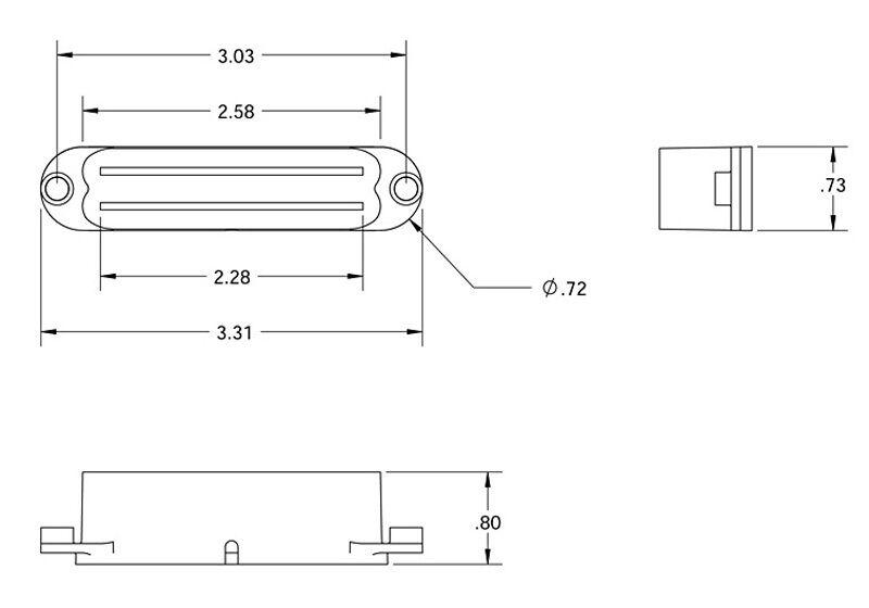Seymour Duncan SHR-1 Strat Hot Rails Set Negro N N N M B Nuevo 2x SHR-1n 1x SHR-1b 482d53