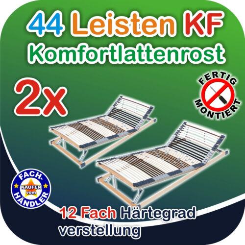 Angebot 2x 44 Leisten Rahmen KF verstellbar 100x200cm bis 200kg belastbar!