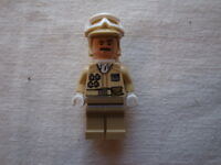 Lego Starwars Hoth Rebel Officer 2012 Advent Calender