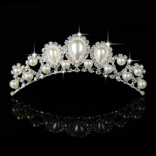 Bridal Crown Tiara Crystal Floral Wedding Hair Accessories Head Jewelry Hairwear