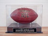 Football Case For A Brett Favre Autographed Football