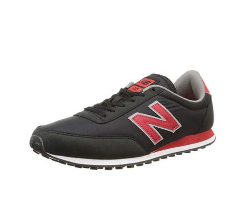 Scarpe Sneakers Uomo NEW BALANCE U410CPB Nero//Rosso Classics Traditionnels
