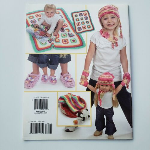 """Annie/'s Attic Crochet Pattern Book 871121 Dolly /& Me 18/"""" Doll Accessories /& Toys"""