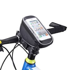 Roswheel Bicycle Handlebar Bag Bike Cycling Front Frame Cellphone Mobile Pouch