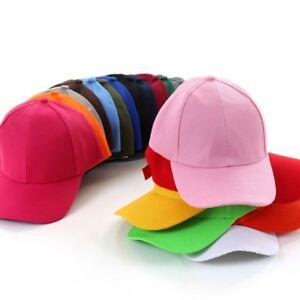 7bc81e945 Details about UK Men Women Adjustable Polo-Style Baseball Hat Ball Cap  Plain Washed Cotton Cap