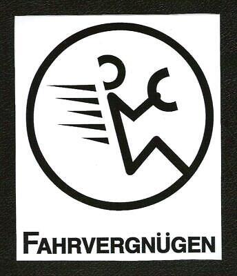 Fahrvergnugen Sticker Vintage Inspired Sports Car Racing Jetta Golf Gti Ebay Özel tasarım & kesim sticker. fahrvergnugen sticker vintage inspired sports car racing jetta golf gti ebay