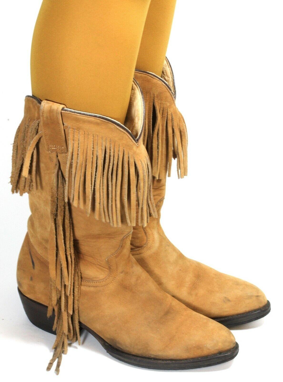 Western botas botas de vaquero solchaga style line Dance Mezcalero Mezcalero Mezcalero flecos 41  para mayoristas