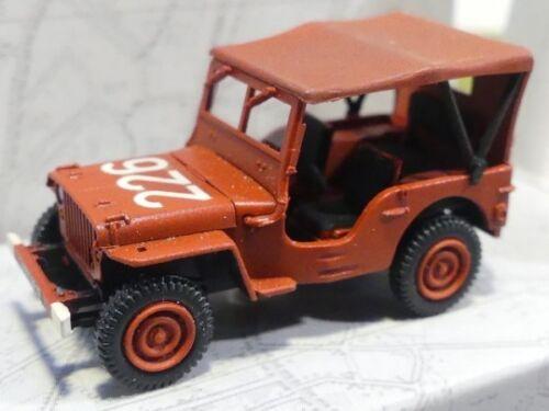 1//87 Ree modeles jeep bomberos pompier lona cb-089