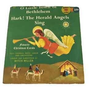 Favorite-Christmas-Carols-O-Little-Town-of-Bethlehem-Vintage-1957-Record
