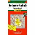 Saxony-Anhalt: FB.D216 by Freytag-Berndt (Sheet map, 2002)