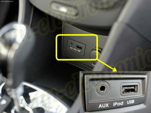 Para Hyundai Tucson iPhone 5 6 7 Music Interface Audio AUX 8 8 pines Cable de carga